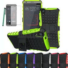 Rugged Armor Hybrid Heavy Duty Shockproof Case Slim Cover For HTC Desire 530