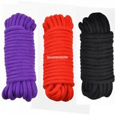 Sexy GORGEOUS SOFT Japanese Silk ROPE 10 METRES LONG accessories 3 Colors EN24H