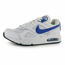 Nike Air Max Ivo Trainers Junior Boys White/Royal Sports Shoes Sneakers Footwear