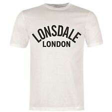 Lonsdale Heritage T-Shirt Mens White Top Tee Shirt