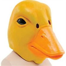Yellow Duck Overhead Mask - Deluxe Rubber Fancy Dress Costume Party Outfit