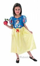 Childrens Girls Snow White. Storytime Costume for Fairytale Princess Fancy Dress