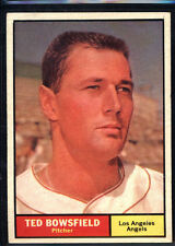1961 Topps #216 Ted Bowsfield - NM *004-444