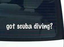 got scuba diving? DIVE SNORKELING DIVING FUNNY DECAL STICKER ART WALL CAR CUTE