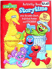 SESAME STREET ~STORYTIME~ COLORING & ACTIVITY BOOK