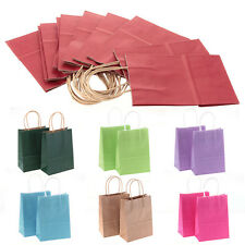 12pcs Wedding Party Favor Kraft Paper Gift Present Packing Bags Portable New