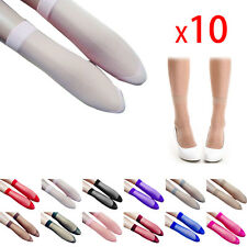 10Pair Women Ultra-thin Transparent Short Nylon Stockings Ankle Socks Fashion
