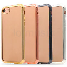 TPU Phone Case Cover for iPhone 7 7 Plus Electroplate Luxury Utrathin Shockproof
