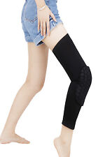 Honeycomb Knee Sleeve Leg Wrap Support Brace Protector Pad Training Fitness Gym