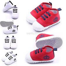 Newborn Infant Baby Girl Boy Sneakers Soft Sole Anti-slip Crib Shoes 0-12 Months