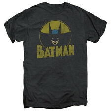 Batman DC Comics Superhero Distressed Comic Circle Adult PT T-Shirt Tee