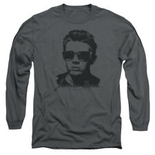 James Dean Icon Movie Actor Shades Adult Long Sleeve T-Shirt Tee