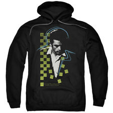 James Dean Icon Movie Actor Checkered Darkness Adult Pull-Over Hoodie