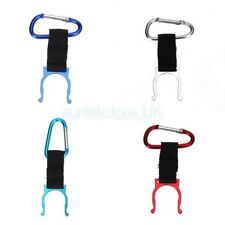 Aluminum Carabiner Strap Hook Clip Buckle Water Bottle Holder Camping Hiking