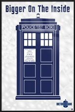 DOCTOR WHO - FRAMED TV POSTER (BIGGER ON THE INSIDE - THE TARDIS) (DR. WHO)