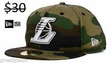 Los Angeles Lakers Camo Camouflage New Era 59Fifty Fitted NBA Basketball Hat Cap