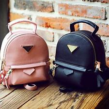 Faux Leather Convertible Shoulder bag Small Mini Backpack Rucksack Purse Cute YT