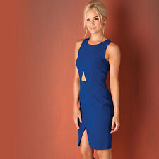 Womens Glamorous Sleeveless Dress In Blue From Get The Label