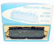 Hornby Meccano France HO SNCF BB 8144 PASSENGER TRAIN LOCOMOTIVE #6386 MIB`65!
