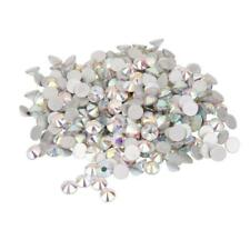 1400pcs Crystal Flat Back Rhinestones Gems Acrylic Beads Crafts for DIY Jewelry