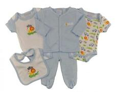 Take Me Home Newborn Boys Safari 5pc Layette Set Size 0/3M 3/6M 6/9M $22