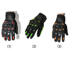 Practical Motorcycle Full Finger Racing Motocross Motorbike Protective Gloves AU