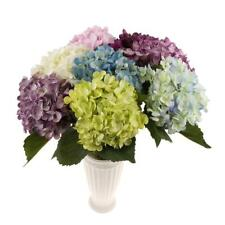 Artificial Flower Hydrangea for Floral Arrangement Home Table Centerpieces Decor