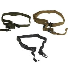 Tactical Military Hunting 3 Point Rifle Sling Gun Strap Survival Rescue Gear