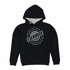 Quiksilver Hoodies - Quiksilver Youth Full Moon Hoody - Black