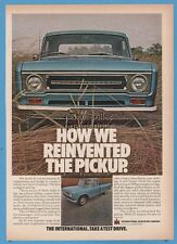 1969 International Harvester IH How we reinvented the pickup truck photo ad