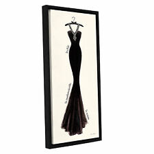 ArtWall 'Emily Adams's Couture Noir Original III' Gallery Wrapped Floater-framed