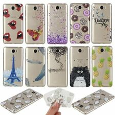Cute Transparent Clear Slim Pattern Silicon Soft TPU Case Cover For Cell Phones