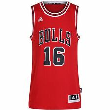 adidas CHICAGO BULLS PAU GASOL 16 RED SWINGMAN +2 NBA BASKETBALL XXS XS S M L XL