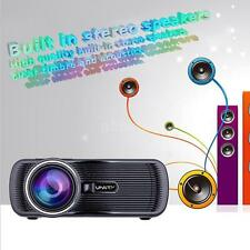 1080P 1000 Lumens Projector LED LCD Home Theater Cinema Multimedia HDMI 3D H3J0