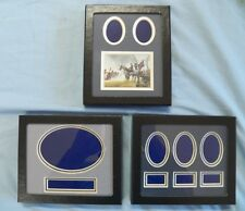 """5""""X6"""" Mats In Riker Display Case For Civil War Artifacts And Other Collectibles"""