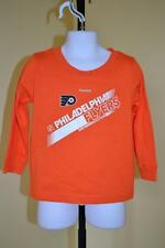 New (mended) NHL Philadelphia Flyers Toddlers Youth sizes 3T-M Reebok Shirt