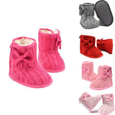0-18 Months Lovely Toddler Booties Girl Soft Sole Baby Boots Crib Infant Shoes