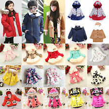 Children Winter Clothes Kid Girls Boys Warm Coat Jacket Parka Snowsuit Outerwear