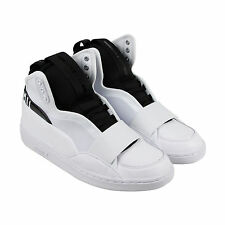 Puma McQ Brace Mid Mens White Leather Lace Up Sneakers Shoes