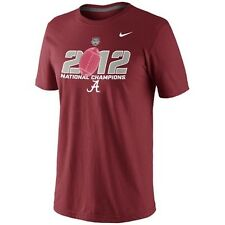 Alabama Crimson Tide 2012 National Champions t-shirt Nike New BAMA Roll Tide