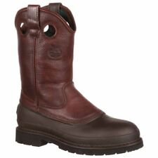 Georgia Boot 11in Muddog Pull On Brown - Mens  - Size