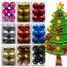 Christmas Tree Balls Tree Ornaments Christmas Tree Decoration Deco 12er
