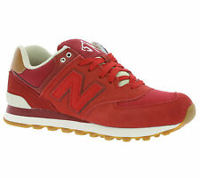 New New Balance 574 Shoes Men's Sneakers Trainers Rot ML574NEC trainers