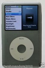 Apple iPod classic 7th Generation Silver (120GB)
