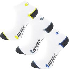 Hi-Tec 2017 Technical Sport Quarter Sock Mens Golf Low Ankle Socks Pack of 3
