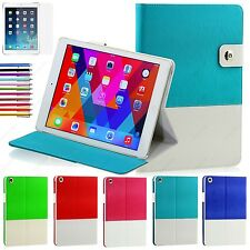 Hybrid leather Folio Smart Case Cover Stand for iPad 2 3 4 Retina Display + Gift