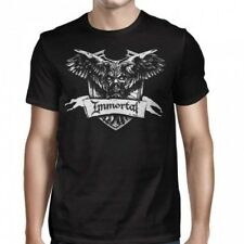 IMMORTAL - Crest - T SHIRT S-M-L-XL-2XL Brand New Official T Shirt