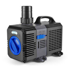 Pond Pump 1850GPH Adjustable Submersible Inline Fountain Waterfall Koi Filter