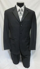 Black Ralph Lauren Complete Prom Tuxedo Package Jacket Pants Shirt Vest Tie