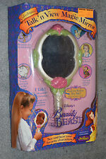 USED JUSTOYS ELECTRONIC BEAUTY AND THE BEAST TALK N VIEW MAGIC MIRROR OB